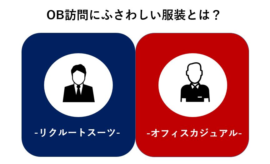"""【論争】OB訪問の最も""""浮かない""""服装とは?by現役OB視点"""
